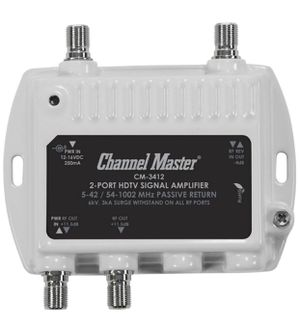 Channel Master 2-Port HDTV Signal Amplifier for Sale in Colleyville, TX