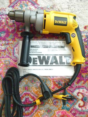 """Dewalt Dw235g 1/2"""" drill with 360° handle new for Sale in Garden Grove, CA"""