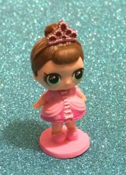 Toy lol baby pink princess tiara doll figure for Sale in Walkersville,  MD
