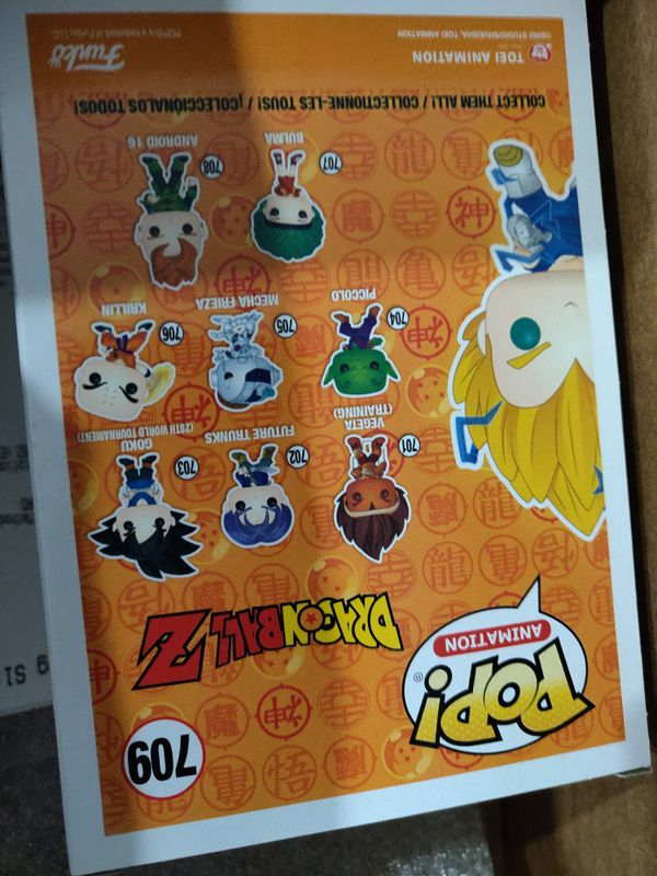 Super Saiyan Pop PX 3 available Sealed New