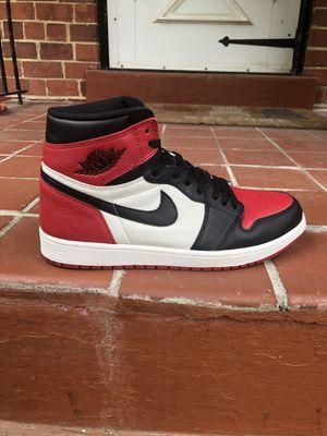 Air Jordan 1 bred toe size 12 for Sale in Washington, DC