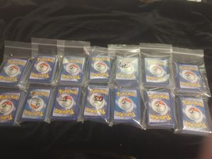 Pokemon Card Lot. 650ish cards for Sale in Tacoma, WA