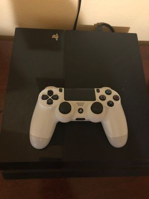 PlayStation 4 with games for Sale in San Antonio, TX
