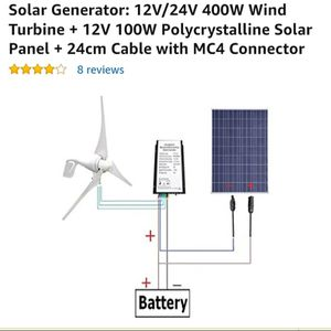 Eco worthy solar and wind generator for Sale in Salt Lake City, UT