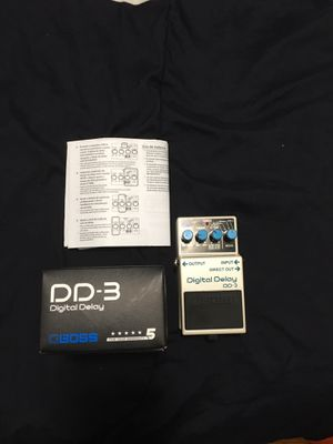 Boss dd3,boss ds1 and chorus for Sale in Chicago, IL