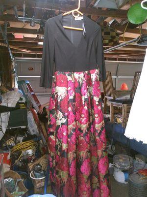 Evening gown dress or formal dinner dress $100 for Sale in Riverside, CA