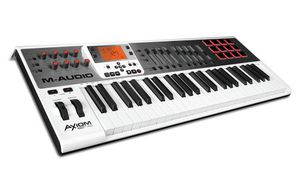 M-Audio Axiom Air 49 - MIDI Controller Key Synth Electric Keyboard Piano - DJ Beat Machine Mixer Music Tool for Sale in North Miami Beach, FL
