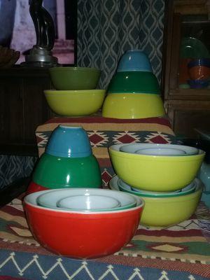 Pyrex 3 piece bowl sets for Sale in San Bernardino, CA