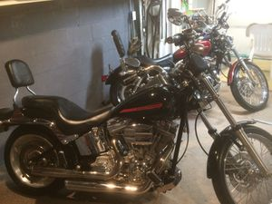 2007 Harley Davidson Softail custom for Sale in Colona, IL