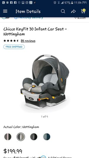 Chico car seat new for Sale in Las Vegas, NV