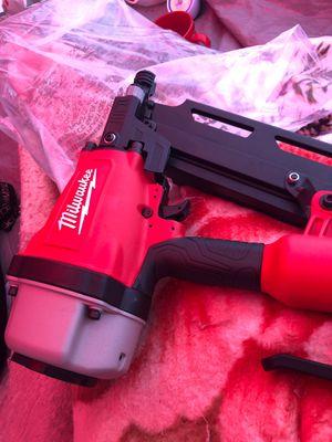 Milwaukee nail gun for Sale in Whittier, CA