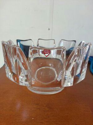 Orrefors Sweden Crystal Bowl for Sale in West Palm Beach, FL