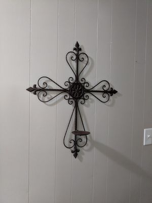"""Iron Wall Candle Holder. 24"""" w x 26"""" H. for Sale in Georgetown, TX"""
