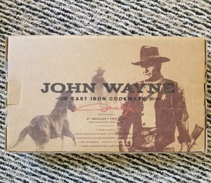 John Wayne cast iron cookware for Sale in Tacoma, WA