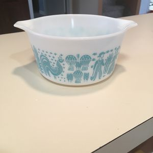 Vintage Pyrex Amish Butterprint 473 Turquoise 1Qt Baking Dish for Sale in Philadelphia, PA