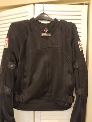 YOSHIMURA MENS ARMOURED AND VENTED MENS MOTORCYCLE JACKET SIZE LARGE for Sale in Gulf Stream, FL