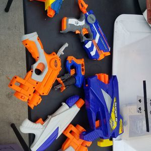 $5 Each Or $30 For All Nerf guns for Sale in Houston, TX