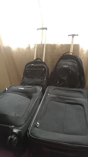 Two suitcases and 2 carrying bags for Sale in Happy Valley, OR