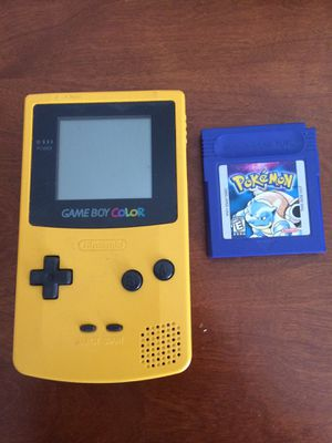 Pokemon blue yellow Gameboy color Nintendo tested for Sale in San Ramon, CA