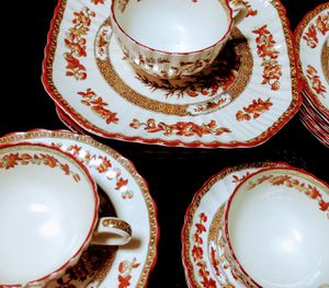 Top Condition, 4 Complete Spode 5 Piece Place Settings for Sale in Tigard, OR