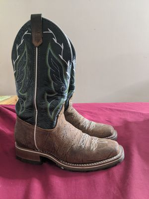 Size 7 double H boots for Sale in Ross, OH