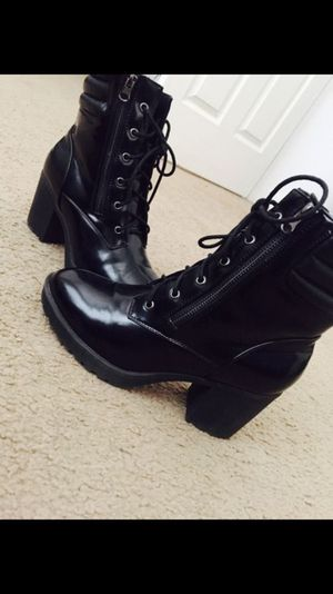 Black Boots Size 10 for Sale in Washington, DC