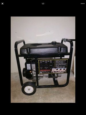 Generator General 5000 good working condition for Sale in Seattle, WA