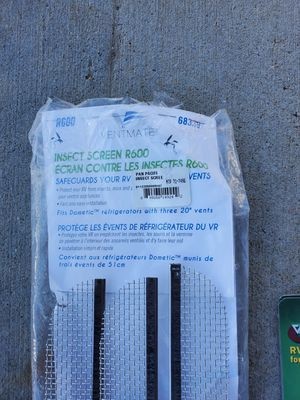Insect screens for travel trailer or rv brand new for Sale in Stockton, CA