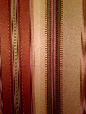 "Elegant striped curtains 4 panel 50x87"" (not hem stitched)) for Sale in Navarre, FL"