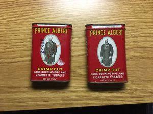 Prince Albert Tabasco tins vintage for Sale in Davenport, IA
