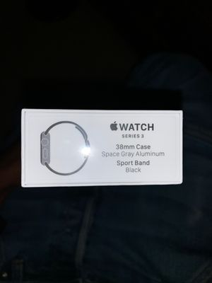 Series 3 Apple Watch (space gray) for Sale in UPR MARLBORO, MD