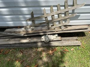 Free boards for fire pit. 6/7 ft. Long..6or7 boards for Sale in Greenville, SC