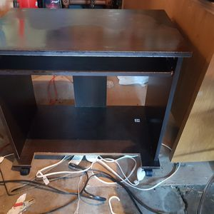 Shelf with slide out for keyboard or misc for Sale in Billings, MT
