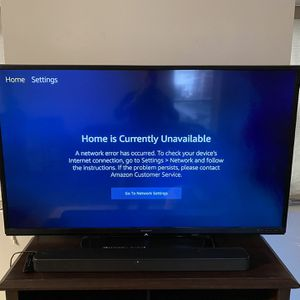 60in Sharp TV w/Sound Bar for Sale in Cleveland, OH