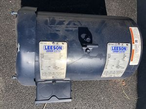 NEW 3 phase 5 HP motor (dented in shipping) for Sale in Scottsdale, AZ