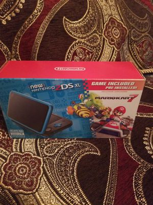 Nintendo 2ds xl comes with 3 games ( mario party the top 100, super smash Bros ,super Mario Bros 2) plus case and protective cover . for Sale in St. Petersburg, FL