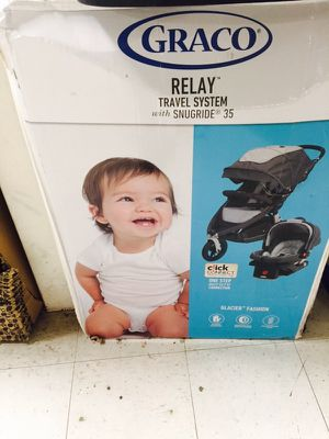 Graco relay jogger stroller & car seat for Sale in Las Vegas, NV