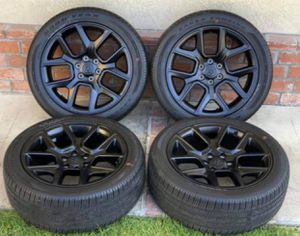"22"" Dodge Ram 1500 Night Edition brand new wheels and tires for Sale in Long Beach, CA"