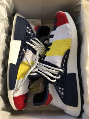 38040e26f0c26 Pharrell billionaire boys club bbc human race hu nmd size 9 for Sale in  Seattle