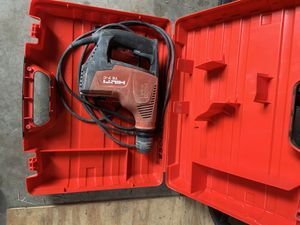 Hilti TE 7-C hammer drill for Sale in Savannah, GA