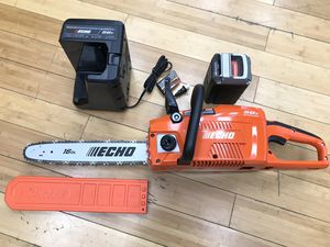"""Echo 16"""" Chainsaw 58v Brushless Kit for Sale in Ashland, MA"""