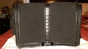 Rebecca Minkoff Chevron Quilted Suede Love Jumbo for Sale in Denver, CO