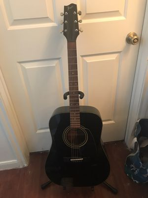 Fender Gemini 3 Acoustic Guitar w/ Case & Stand for Sale in Austin, TX