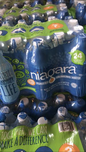 Niagara 24 Pack Waters $2.75 a Case for Sale in Allentown, PA