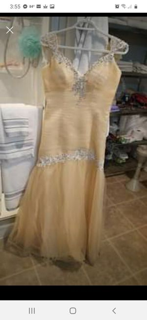 Nude prom dress. for Sale in Scottsville, KY