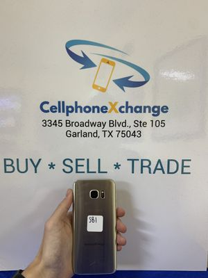 GALAXY S7 EDGE UNLOCKED for Sale in Garland, TX