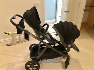 Joovy qool double twin or two baby convertible stroller for Sale in Jupiter, FL