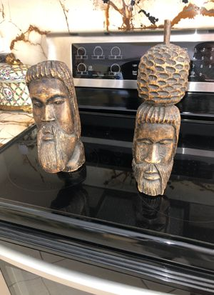 LARGE WOOD CARVINGS for Sale in Boca Raton, FL