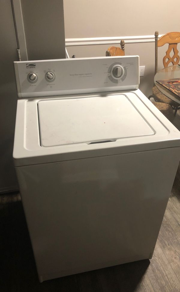 Estate washer. 5 cycle+ 2 speed combination.