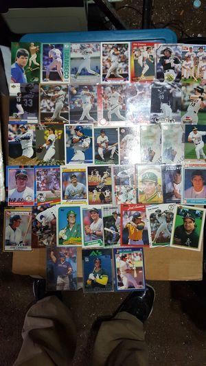 Jose canseco baseball card lot of 40 cards for Sale in Brooklyn, NY